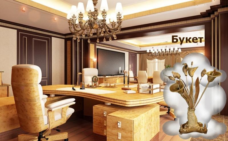 Предметы декора интерьера для кабинетов руководителя и офиса