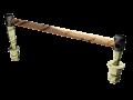 Соединитель электротяговый для крестовин ЭМС-70-4500
