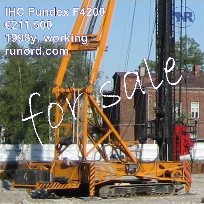 IHC Fundex F4200 1998 буровая установка бу